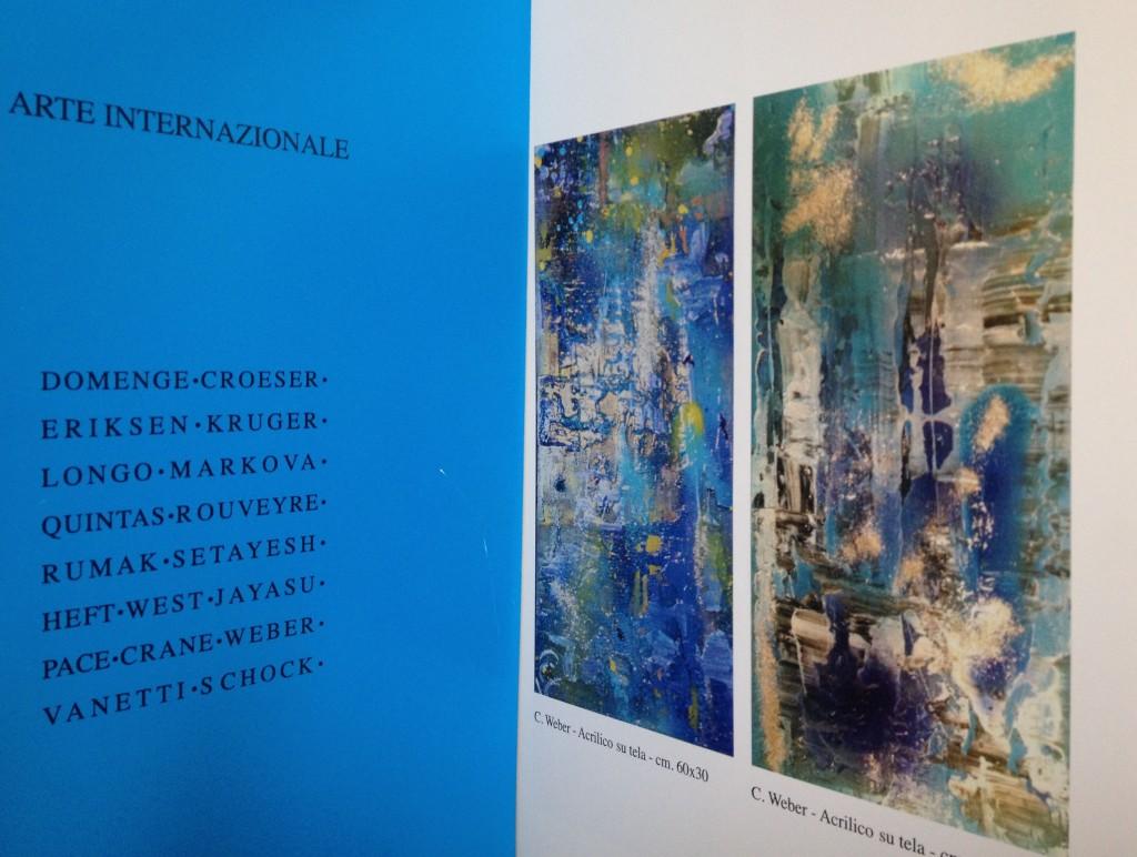 Exposition collective, Médiathèque, Matera (Italie) 2013