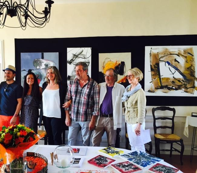 Thierry Tougeron, Céline Weber, Corinne Rouveyre, Gil Quioc, François Garros, Barbara Souchet