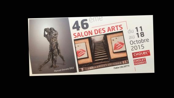 Exposition Salon des Arts de Cholet (France)