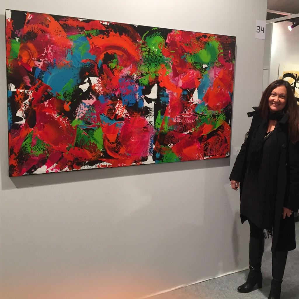 Céline Weber, Salon d'Automne 2015, du 15 au 18 octobre sur les Champs-Elysées, Paris