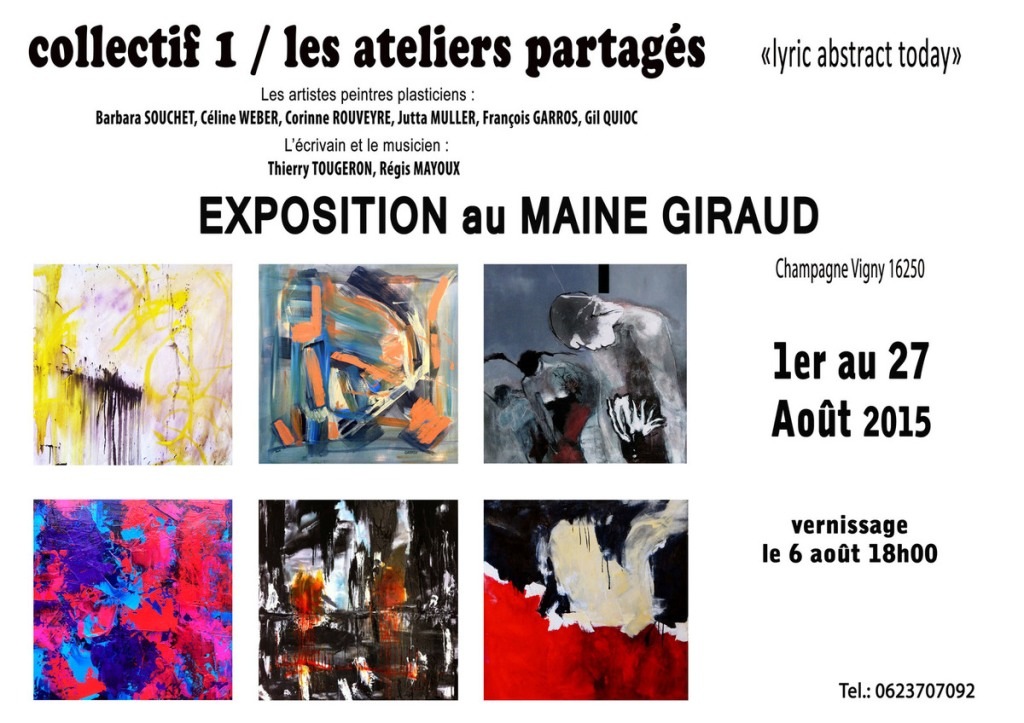 Le Collectif 1 expose au Maine Giraud