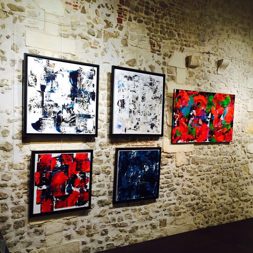 Céline Weber Exposition collective, « lyric abstract today » Porte Maubec, La Rochelle (France) 8-15 Mai 2015