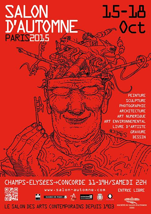 Salon d'Automne 2015, Les Champs-Elysées, Paris