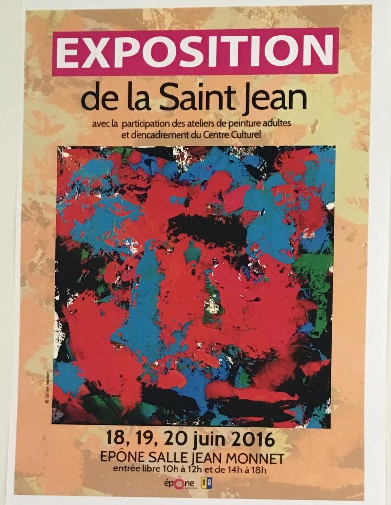 Exposition Collective de la St Jean, Salle Jean Monet, Epône, France