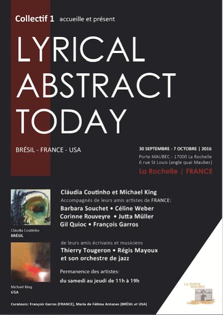 Céline Weber, Exposition Collective, Lagord, La Rochelle du 30 Septembre à 7 Octobre 2016