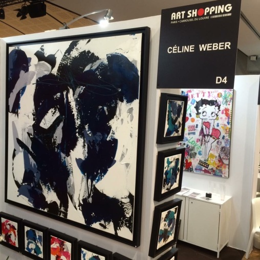 Exposition Art Shopping, Carrousel du Louvre Paris 1er, (France), octobre 2016 -4