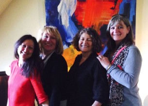 Artistes Peintres, Céline Weber, Jutta Muller, Muriel Massin, Corinne Rouveyre