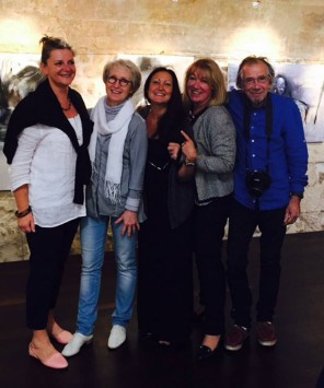 Artistes Peintres Plasticiens, Corinne Rouveyre, Barbara Souchet, Céline Weber, Jutta Muller, François Garros