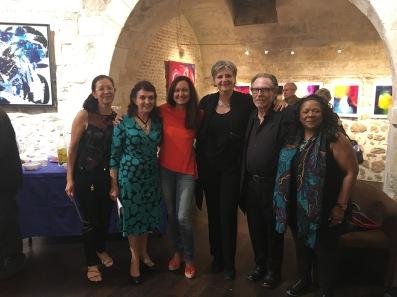 Fatima Antunes, Claudia Countinho Bernardes, Ceéline Weber, Corinne Rouveyre, Michael King, Kathy King