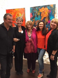 Gil Quioc, Corinne Rouveyre, Josée Van Lierop, Céline Weber, Jutta Muller