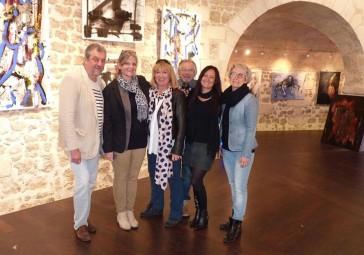 Gil Quioc, CorinneRouveyre, Jutta Muller, François Garros,Céline Weber, Barbara Souchet