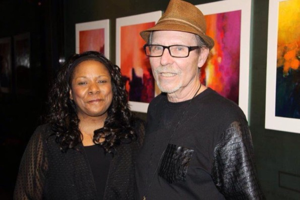 Michael King with his wife Kathy