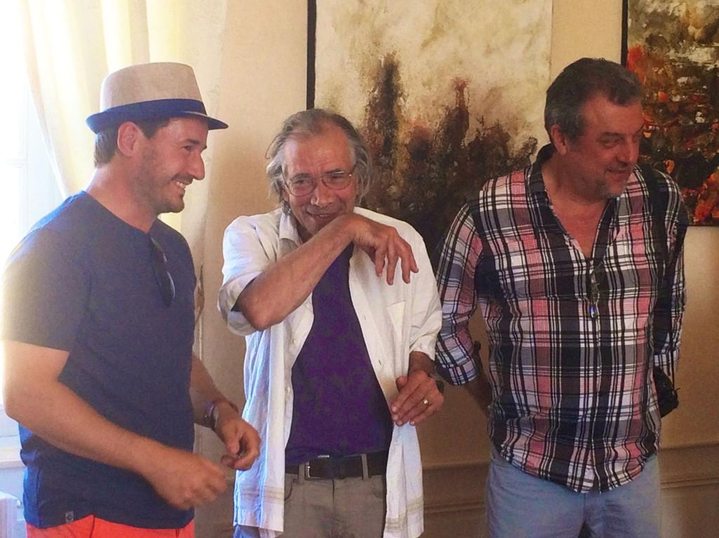 Thierry Tougeron, Francois Garros, Gil Quiocq