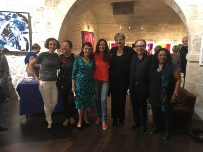 Valérie Parra Hufbauer, Fatima Antunes, Claudia Countinho Bernardes, Ceéline Weber, Corinne Rouveyre, Michael King, Kathy King