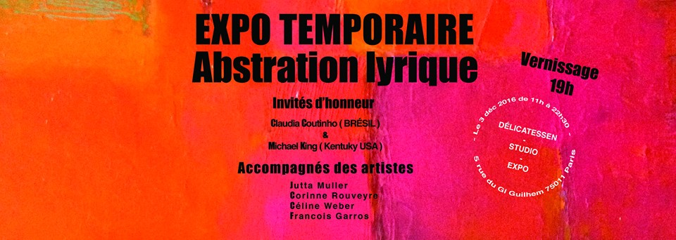 Exposition collective, Abstraction Lyrique, Paris 11ème ( France )