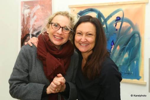 Céline Weber, Exposition collective, Abstraction Lyrique, Paris 11ème ( France )