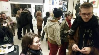 Exposition collective, Abstraction Lyrique, Paris 11ème ( France )