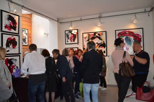 Exposition collective ArtPluriElles, Céline Weber & Cécile Courtois, Paris 11e (France)