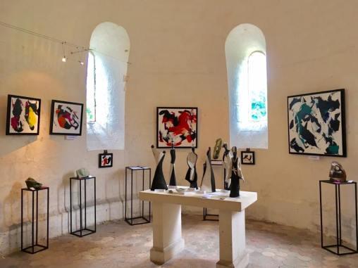 Exposition à l'Abbaye de Fontdouce ~ 7-13 Août 2017