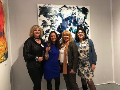 Corinne Rouveyre, Céline Weber, Jutta Muller, Marie-Dominique Willemot