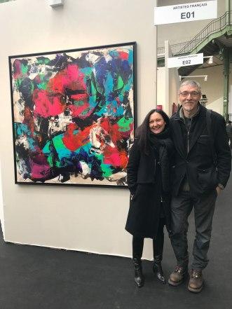 Céline Weber, Etienne Boiteux (Grand Palais, 02/18)