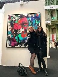 Nathalie Patrier, Céline Weber (Grand Palais, 02/18)
